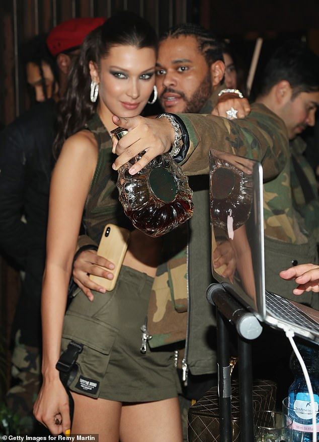Back to: Bella and The Weeknd officially started dating again in Spring 2018 before separating again in August 2019 (photo February 2019)