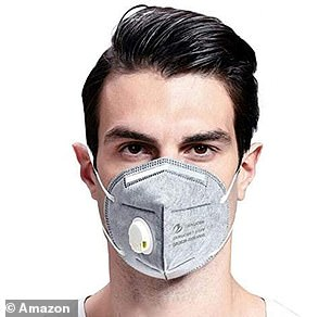 N95 face mask being sold for £6.99 online