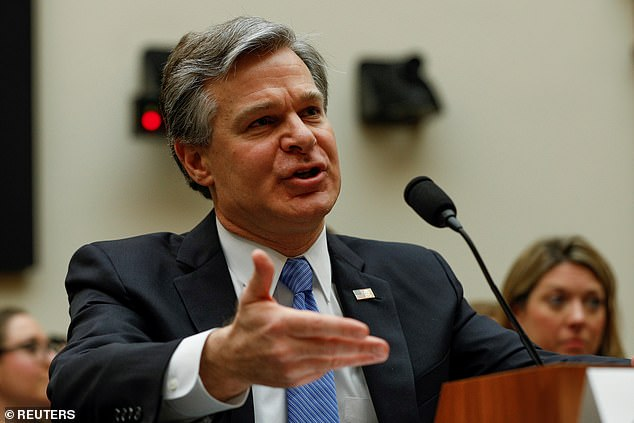 FBI Director Christopher Wray, earlier this year, testified several agents could be under internal investigation by the bureau
