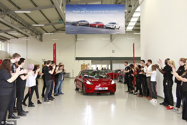 Customers have been able to place pre-orders for the Tesla Model 3 since March 2016, although deliveries to the UK only started arriving in June of last year (photo here)
