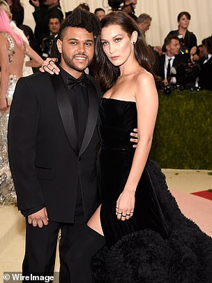Chaotic situation: Bella made her MET Gala debut with Abel in 2016
