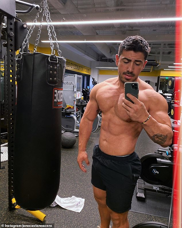 Trainer to the stars! Rebel's personal trainer, Jono Castano Acero (pictured), recently told E! News he had created a personalised program for the comedian
