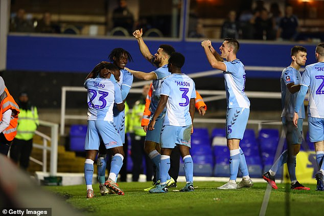 League One and League Two could be dropped next week - Coventry tops third level