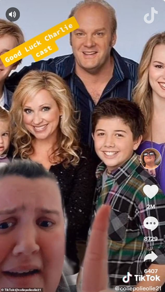 Snot: Nicole was also not impressed by Bradley Steven Perry, who played Gabe Duncan on the Disney Channel show Good Luck Charlie