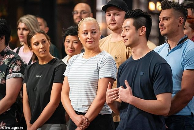 End of the road: MasterChef Australia is still being filmed in Melbourne, but is expected to wrap in the coming weeks. Pictured: MasterChef: Back to Win contestants