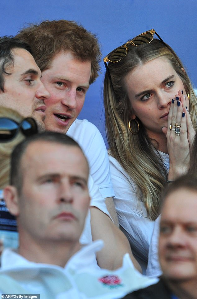 Cressida and Prince Harry broke up in 2015 after being said to have struggled with the pressure of royal life during her romance with the Queen's grandson.  In the photo, in March 2014