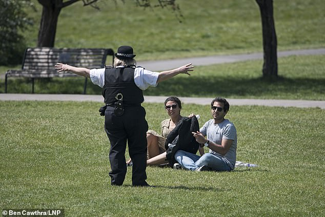 With the good weather expected this weekend, the police fear being considered as bad guys for the respect of the law