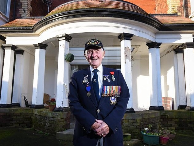 Mr. Benbow, originally from Oswestry in Shropshire, was married to Ada for 71 years and fought in the Pacific and Mediterranean during World War II