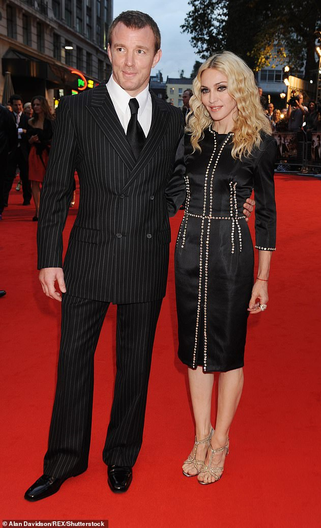 Oops: Madonna and her ex-husband Guy welcomed Rocco in 2000. They finally separated in 2006 (photo in 2008)