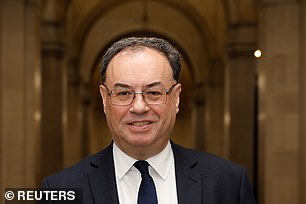 Governor Andrew Bailey released gloomy Bank of England forecasts last week
