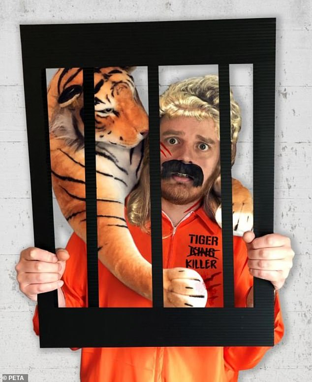 Get ready:PETA, the animal rights organization, debuted a 'Joe Exotic Tiger Killer Costume' for a whopping $159.99 earlier this year