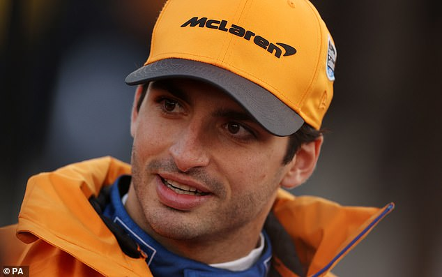 The position at McLaren opened up afterCarlos Sainz Jr (pictured) secured a move to Ferrari which is also expected to be announced this week