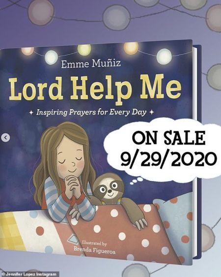 Jennifer Lopez's 12-year-old Daughter Emme Publishing New Children's Book 'Lord Help Me' Inspired by her 'Own Daily Prayers'
