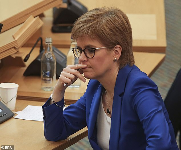 Nicola Sturgeon (above) can read the novels of the day and have a brilliant mind, but that's only part of the story