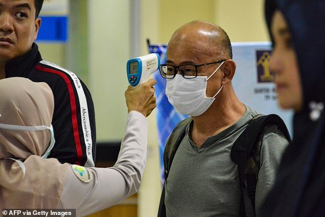 Hospitals and public places such as airports currently rely on temperature scans to detect signs of COVID-19 but these scans pick up any illness that results in a fever. Researchers say this test would only detect the COVID-19 virus