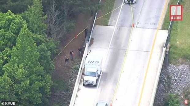 A work crew made the shocking discoverybeneath the East Rome Bypass bridge near the bank of the Etowah River