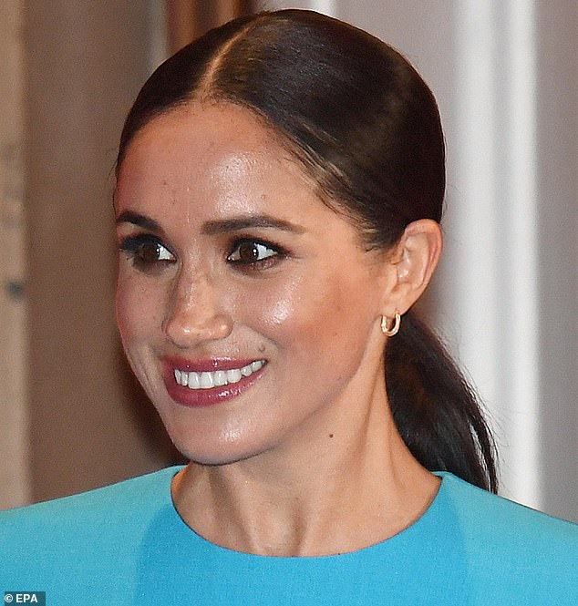 Natural beauty: Sarah and Meghan have worked closely together ever since, and skin care expert says they've become friends