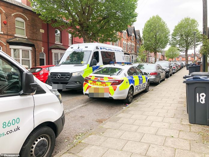 Police carry out door to door searches and investigations in Birmingham. Since then, two people have been charged with discovery and murder arrest after the discovery of body parts in the Forest of Dean on Tuesday evening.