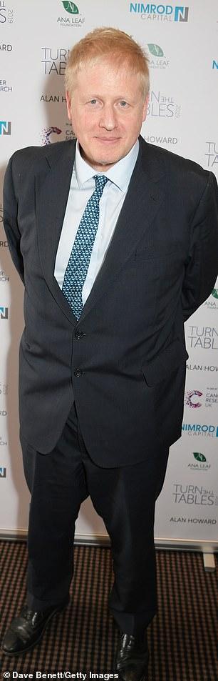 Boris Johnson after his recent weight loss diet