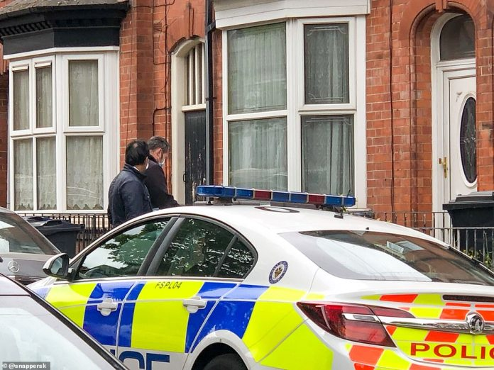 Police carry out door to door searches and investigations in Birmingham. Officers raided properties in Birmingham and Wolverhampton while running to identify the victim