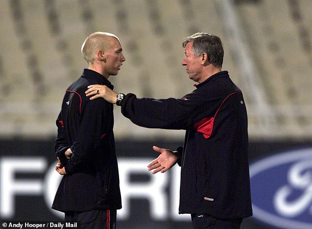 Chadwick played 39 times in Sir Alex Ferguson's first united team while at the club