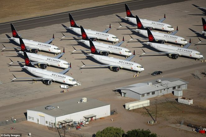 Steep cuts to domestic and international air travel has seen smaller jetliners to join the wide-body aircraft typically used for long-haul flights
