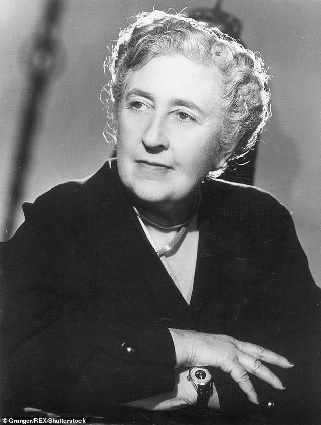 Agatha Christie (pictured) is one of the most acclaimed authors of the 20th Century, but new evidence suggests she may have sought inspiration in a Norwegian novel that has a very similar plot to her story, The Murder of Roger Ackroyd