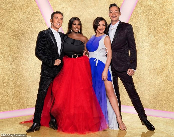 Never done before: quarantining participants is considered an option (photo by judges Bruno Tonioli, Motsi Mabuse, Shirley Ballas and Craig Revel Horwood)