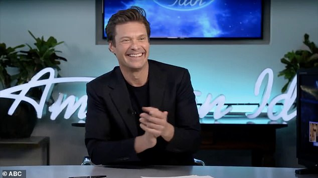 Working hard: Since the coronavirus pandemic took hold of the nation in March, American Idol, along with many other television productions, has suspended production with studio audiences.