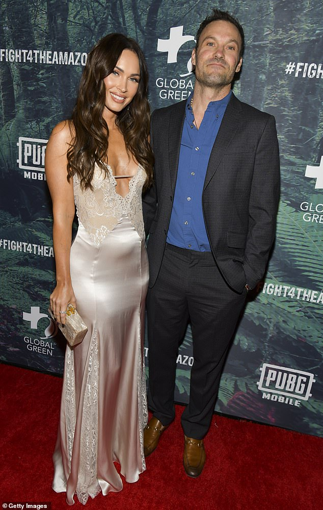 It's over: Brian Austin Green became emotional while revealing that his wife Megan Fox dumped him after a long-distance spell, ending their decade-long marriage. They were broken at the end of last year in Los Angeles