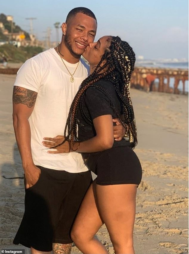 Boyce and Adepoju (from left to right) have been dating for a little over a year before being found dead.