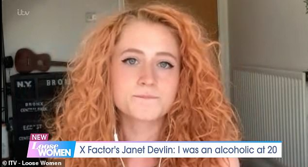 Speaking on the show, Janet revealed that she had attempted suicide at the height of her alcohol addiction and that she would wake up with a