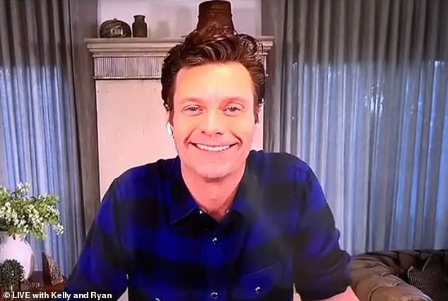 Working too hard: the TV host did not respond to fears about his health, but thanked Kelly's husband, Mark Consuelos, for intervening for him on his day off.