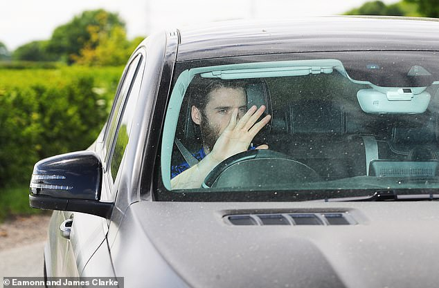Manchester United goalkeeper David de Gea welcomes his arrival at Carrington on Tuesday