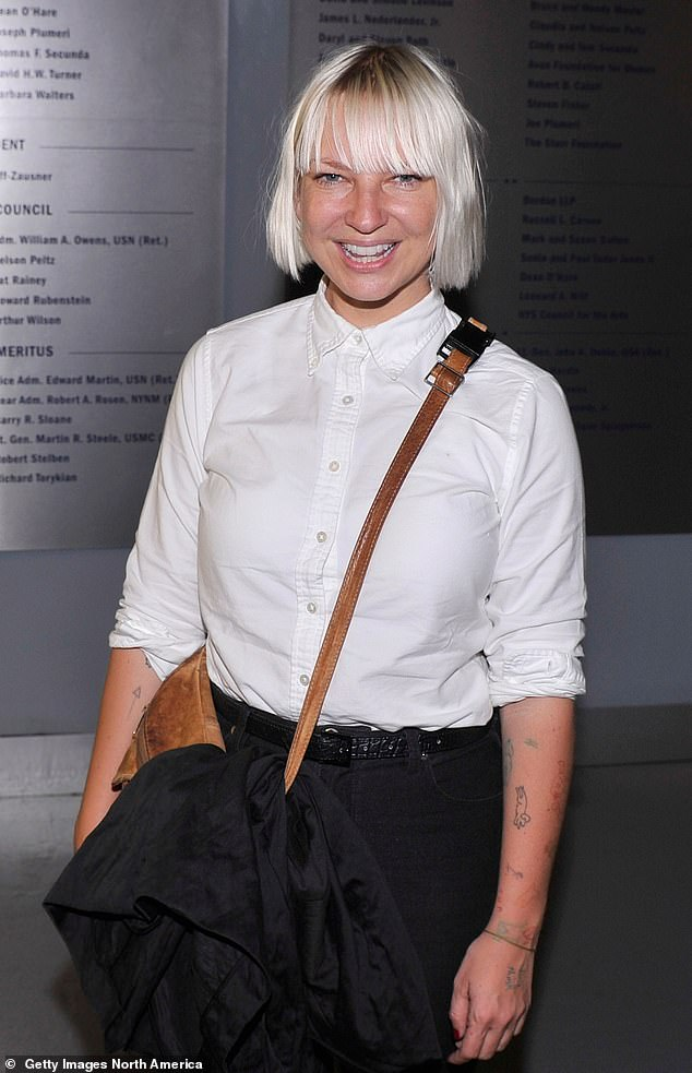 `` We're just trying to find you and do my home check '': in May 2019, Sia tweeted that she was hoping to adopt Dasani, a 16-year-old girl who was featured in the documentary Foster. Pictured 2012
