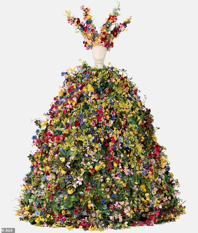 For a cause: The studio behind Midsommar, A24, sold the dress at auction at the Academy Museum for $ 65,000, according to Variety