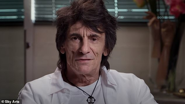 Candid: Earlier this month, Ronnie admitted that he 'never got beyond 29' in his head and that he feels 'cheated' over life going so quickly in his new documentary