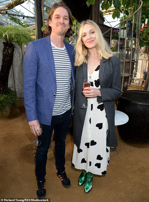 Children:The singer married first wife Krissy Findlay in 1971 and divorced in 1978. They share one son, Jesse, 43, who is now married to presenter Fearne Cotton (pictured in May 2019)