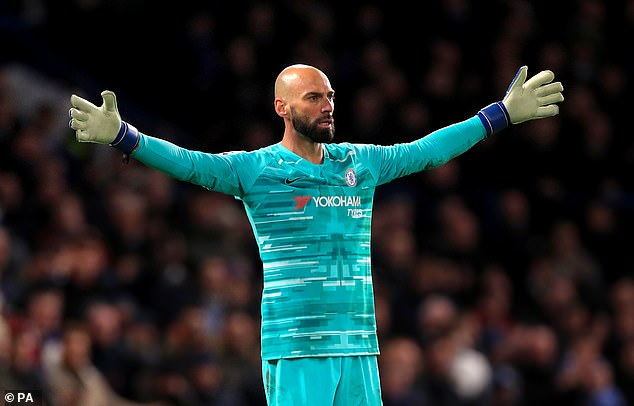 Chelsea have confirmed that Willy Caballero has extended his contract by a further year