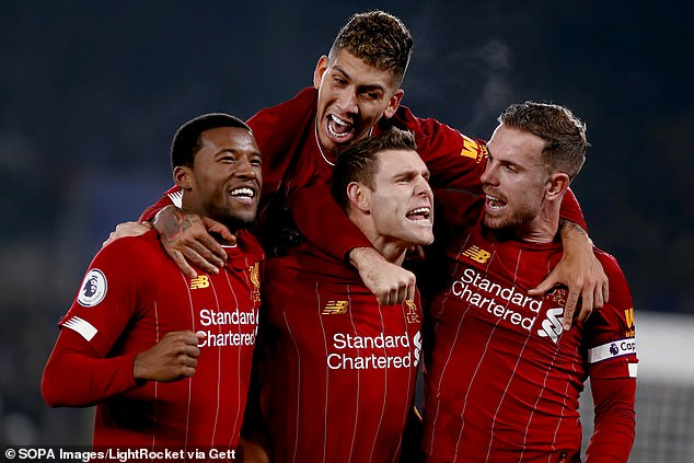 Elected Liverpool Champions To Lift Premier League Trophy With New Balance Strip