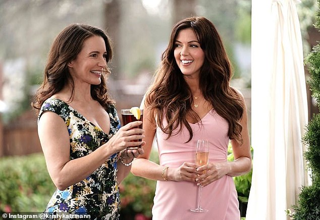 Star power: The show is hosted by Sex and the City alumKristin Davis (left)