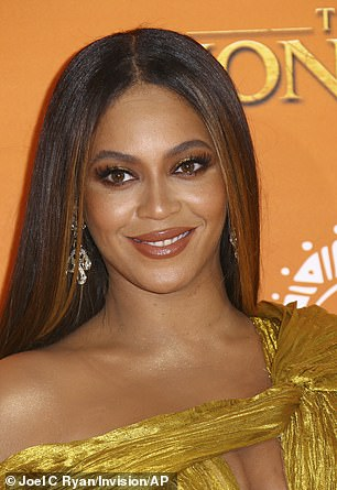 Targets: Beyonce and Nicki Minaj have both been called in her rant on social networks