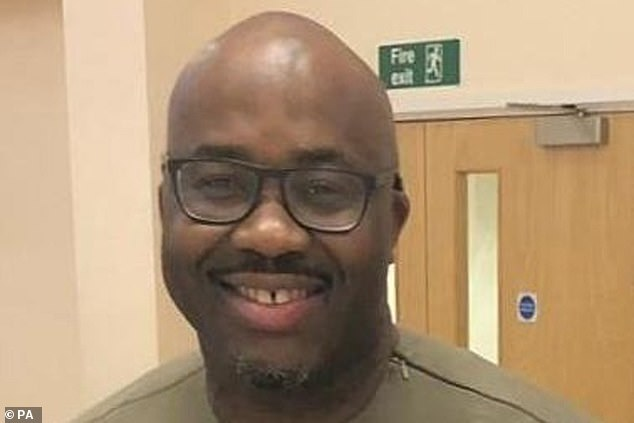 Father-of-two Andrew Ekene Nwankwo, 46, died on May 16 after spending five weeks on a ventilator at Boomfield Hospital in Essex where he worked as a locum nurse. His brother Tochukwu, 45, says the nurse was not given PPE by the hospital, which Broomfield disputes