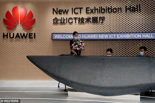 An insider source told the Daily Telegraph the Prime Minister still wants to maintain a relationship with China but would like the Huawei deal to be scaled back 'as quickly as possible' (stock image)