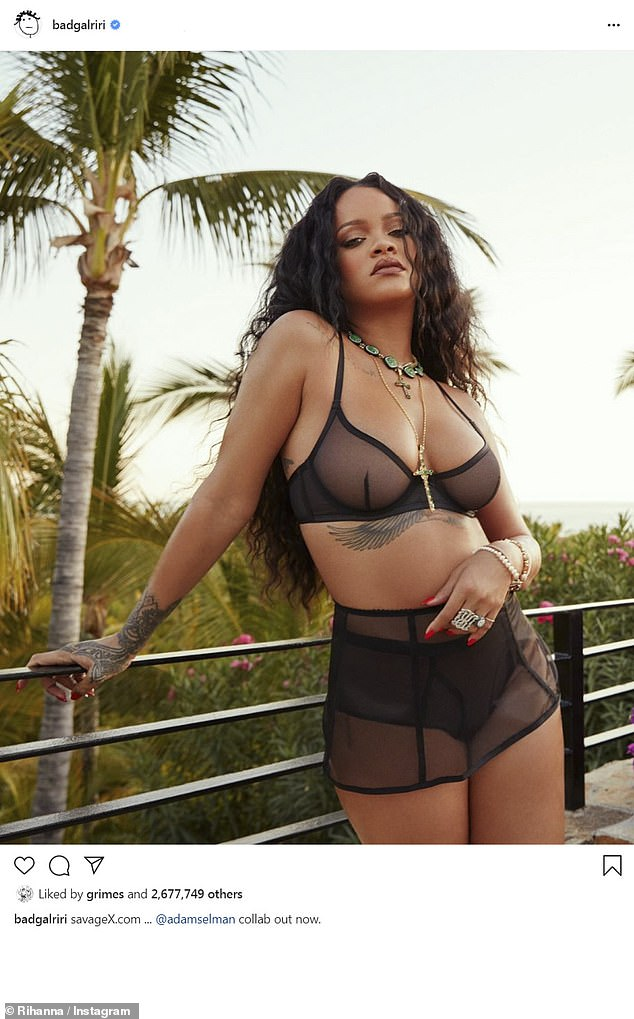"""Rihanna, 32, seems definitely excited about the partnership, as she said in a statement: `` Meg is the energy we were looking for. She is a risk taker with an attitude, a character and a personality """""""