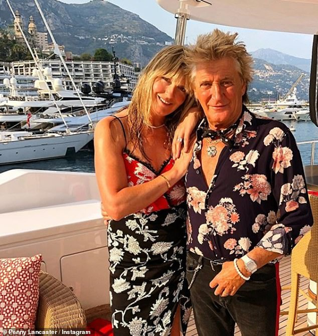 Relationship: Penny and Rod started dating in 1999 before marrying eight years later in the medieval monastery La Cervara in Portofino