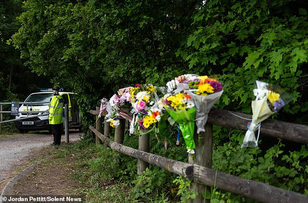 On Thursday, Hampshire Police confirmed that a body had been found in nearby woodland and said they were in the process of identifying who it was