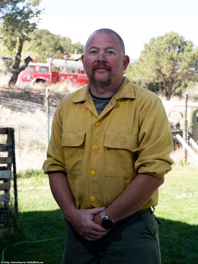 Fire Chief Robert Bertram, 40, said he and his colleagues are still hoping she will be found alive and added that he doesn't believe she would have left by herself