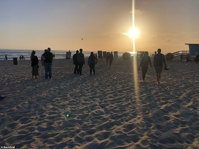 As the sun sets over the mourners of Venice Beach, the WWE star bravely risked his life to save his son