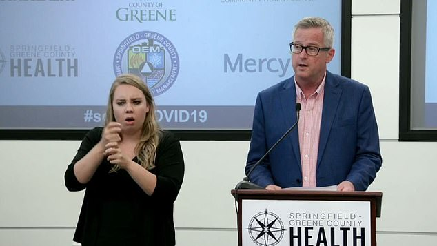 Clay Goddard, director of the Springfield-Greene County health department, announced potential exposures on Friday